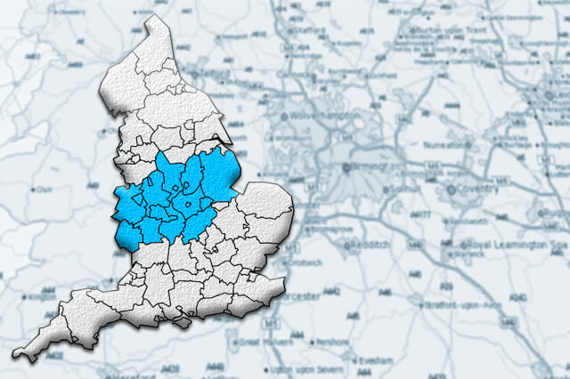 Distribution Centres in the Midlands
