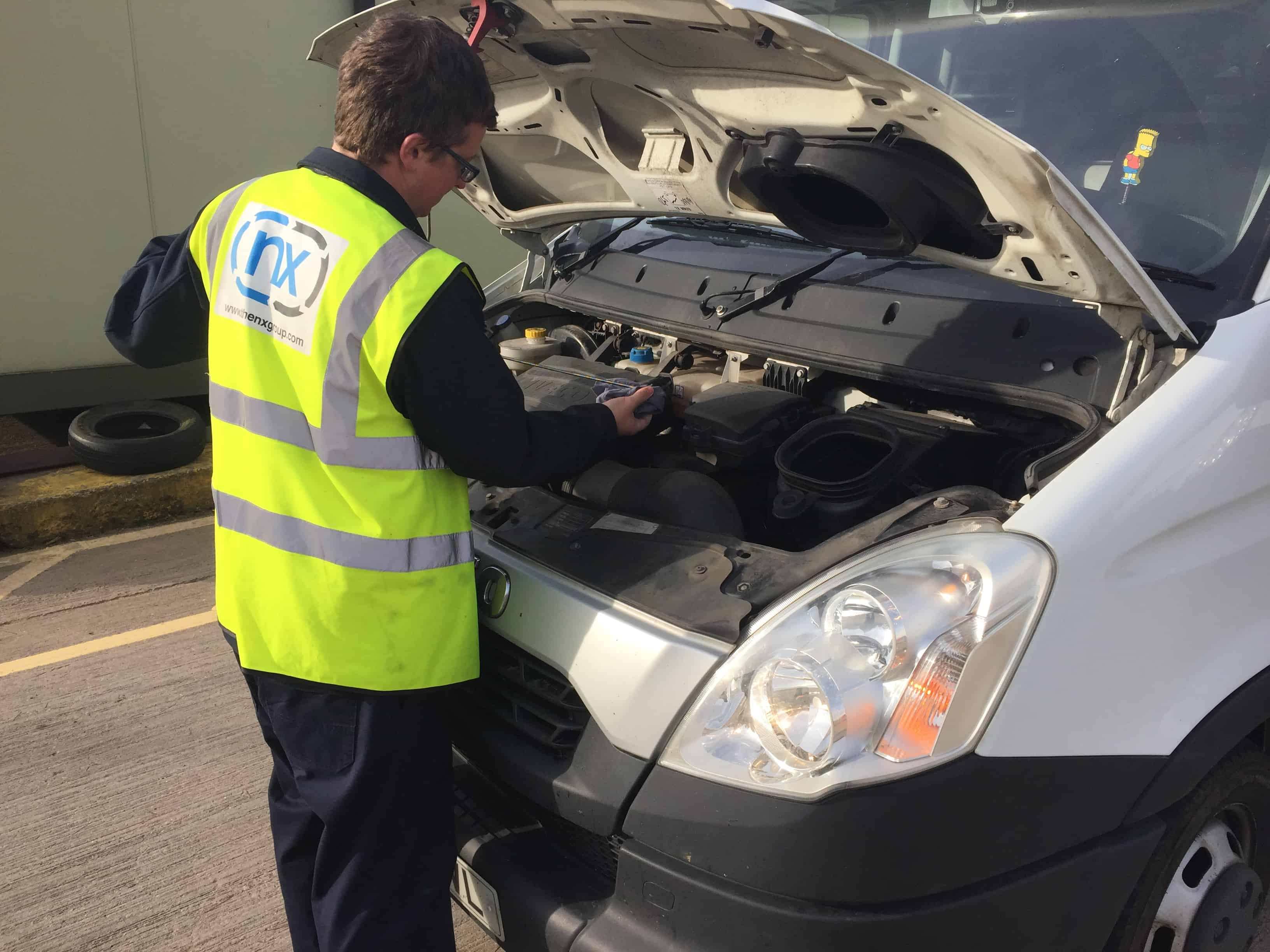 NX Courier Vehicle Checks
