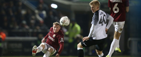 Continuing our Northampton Town FC sponsorship ahead of Derby County rematch